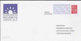 D937 - Entier / Stationery / PSE - PAP Réponse Lamouche - Fondation Recherche Médicale