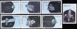 560 Laos Satellites De Communication Satellites MNH ** Neuf SC (L-LAO-70b)
