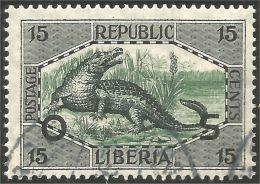 572 Liberia Crocodile Official (L-LBA-148)