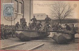 Hemixem Hemiksem Soldats Du Genie A L' Instruction Guindage Du Tablier Afgestemepld 'ST-BERNARD' 1922 Belgian Army