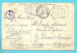 Foto-kaart Met Stempel SOLTAU Naar BIERSET-AWANS