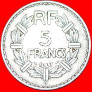 § OPEN 9: FRANCE ★ 5 FRANCS 1947B! LOW START★ NO RESERVE! - France