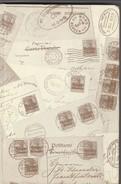 Van Riet Catalogue Des Oblitérations De L'occupation Allemande En Belgique 14-18