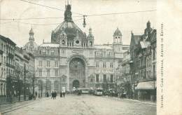 ANVERS - Gare Centrale, Avenue De Keyser