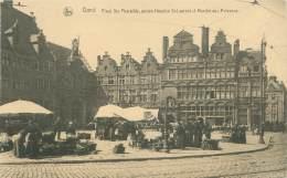 GAND - Place Ste Pharaïlde, Ancien Hospice St-Laurent Et Marché Aux Poissons
