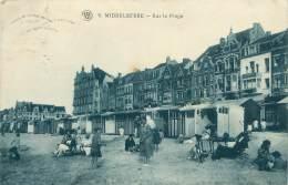 MIDDELKERKE - Sur La Plage
