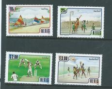 Nevis 1986 Sports Set 4 MNH - St.Kitts And Nevis ( 1983-...)