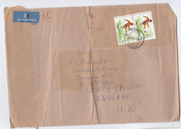 1981 Air Mail ZAMBIA COVER Stamps OLYMPIC FOOTBALL Stamps To GB Sport Soccer Olympics Games