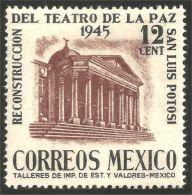 608 Mexico 1945 Theater Peace Paix San Luis Potosi MH * Neuf CH (M-MEX-133)