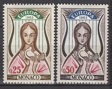 MONACO 1963 N° 618 Et 619  NEUFS  * C2608