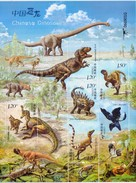 China 2017-11 Stamps  Dinosaur Sheetlet