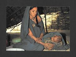 SAHEL - AFRIQUE - AU COEUR DU SAHEL - MATERNITÉ TARGUI - PHOTO P. JACQUES GABIN - Cartes Postales