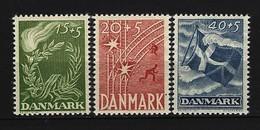 DÄNEMARK Mi-Nr. 295 - 297 Dänischer Freiheitskampf Postfrisch (1) - Dänemark