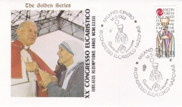 Vatican Cover 1983 Milano XX Congresso Eucaristico  (T17-18)