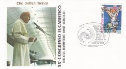Vatican Cover 1983   XX Congresso Eucaristico  (T17-18)