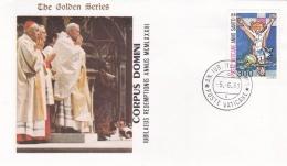 Vatican Cover 1983  Corpus Domini  (T17-18)