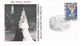 Vatican Cover 1983  Giovanni Paolo II A Lourdes (T17-18)