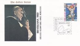Vatican Cover 1983  Brasiliana 1983  (T17-18)