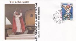 Vatican Cover 1983  Assunzione Di Maria Vergine  (T17-18)