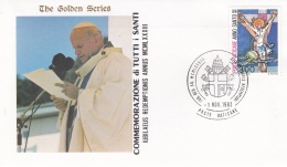 Vatican Cover 1983  Commemorazione Di Tutti I Santi  (T17-18)