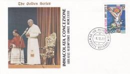 Vatican Cover 1983  Immacolata Concezione (T17-18)