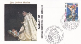 Vatican Cover 1983  Natale  (T17-18)