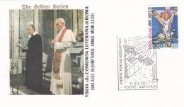 Vatican Cover 1983  Visita Alla Comunita Luterana Di Roma (T17-18)