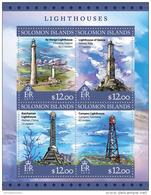 SOLOMON ISLANDS 2016 ** Lighthouses Leuchttürme Phares M/S - OFFICIAL ISSUE - A1643