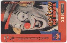 BRASIL E-938 Magnetic TeleRJ - Occupation, Clown - Used