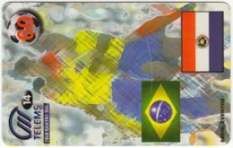 BRASIL E-952 Magnetic Telems - Sport, Soccer - Used