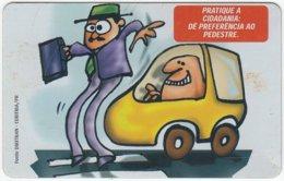 BRASIL E-995 Magnetic Telepar - Cartoon, Traffic, Safety - Used