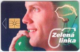 CZECH REP. C-376 Chip SPT - Communication, Telephone - Used