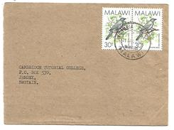 MALAWI LETTRE POUR JERSEY 1990