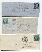 SEINE MARITIME De ROUEN PC 2738 Sur N°14 Sur 3 LAC - 1849-1876: Periodo Clásico