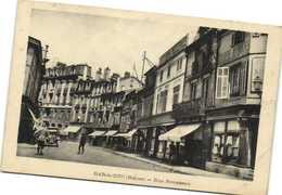 BAR Le DUC  (Meuse) Rue Rousseau Personnages Commerces Recto Verso - Bar Le Duc