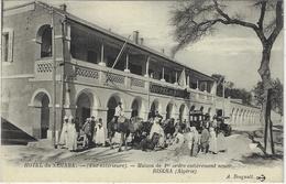 BISKRA - HOTEL DU SAHARA (Vue Extérieure) - Maison De Ier Ordre, Entièrement Neuve - Ed. A. Bougault