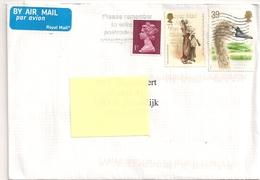 BRIEF LETTRE UK To Belgium  2016 - 1952-.... (Elizabeth II)