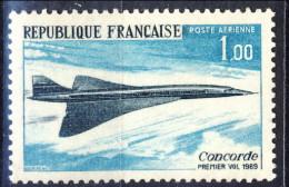 Francia PA 1969 N. 43 F. 1 Concorde MNH Gomma Originale Integra Catalogo € 1 - 1960-.... Nuovi
