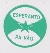 (EGl) Label - Glumarko - From Sweden - El Svedio - Esperanto