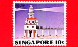 SINGAPORE - Usato - 1982 - Faro - Lighthouse -  Sultan Shoal,1896 - 10