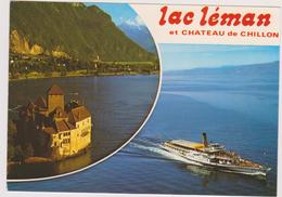 Suisse ,schweiz,svizzera,helvetia,swiss,switzerland,VAUD, MONTREUX,VEYTAUX,chateau CHILLON,lac Léman - VD Vaud