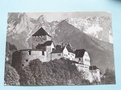 Fürstentum CASTLE VADUZ () Anno 1959 ( Zie Foto Details ) ! - Liechtenstein