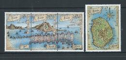 Nevis 1989 Battle Of Frigate Bay Set Of 4 MNH