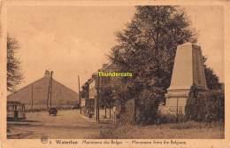 CPA WATERLOO MONUMENT DES BELGES - Waterloo