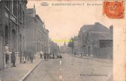 CPA  MARCHIENNE AU PONT RUE DE CARTIER - Charleroi