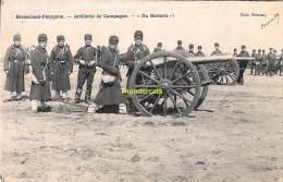 CPA BRASSCHAAT BRASSCHAET POLYGONE ARTILLERIE DE CAMPAGNE EN BATTERIE - Brasschaat