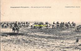 CPA BRASSCHAAT BRASSCHAET POLYGONE EN MARCHE POUR LE TIR DE GROUPE - Brasschaat
