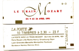 Carnet Marianne De Briat. Train Mozart. N° 2614-C11 - Carnets