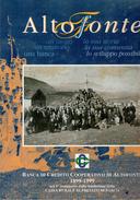 X ALTOFONTE La Storia COPERTINA RIGIDA PROLOCO  F.to 30x35. ILLUSTRATO - Turismo, Viaggi