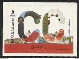 2017-ED. 5105 - 12 Meses, 12 Sellos. Caceres - NUEVO- - 1931-Today: 2nd Rep - ... Juan Carlos I